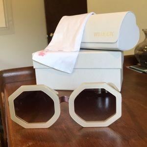 New Wildfox Ava Sunglasses Oversized Large